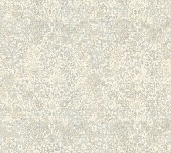 Non-woven wallpaper ornament vintage white grey AP 34375-3 online kaufen