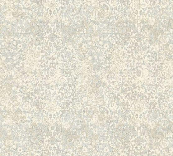 Vliestapete Ornament Vintage cremeweiß hellgrau 34375-3 online kaufen