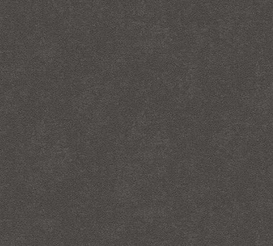 Non-woven wallpaper plain textured anthracite AP 34778-2 online kaufen