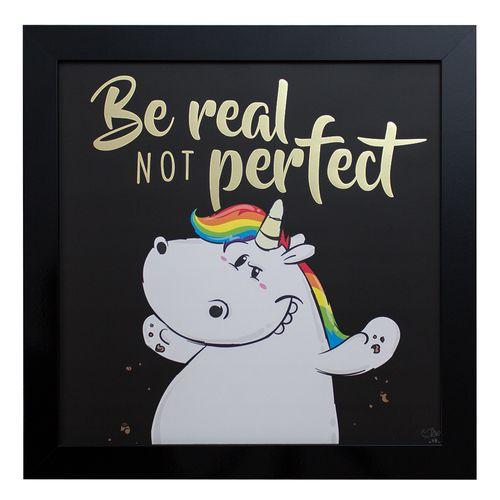 Unicorn Mural Chubby Unicorn Metallic Gloss Picture 50 x 50cm online kaufen