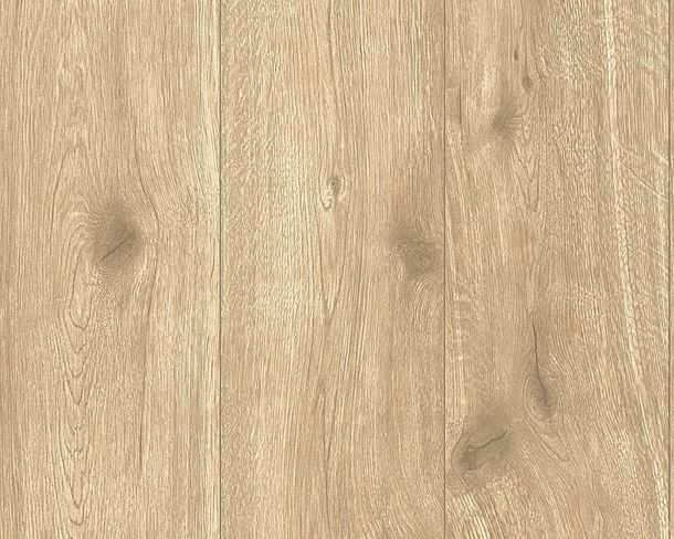 Non-Woven Wallpaper wood look wooden plank brown 30043-4