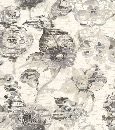 Wallpaper Rasch floral flower used cream beige 803709
