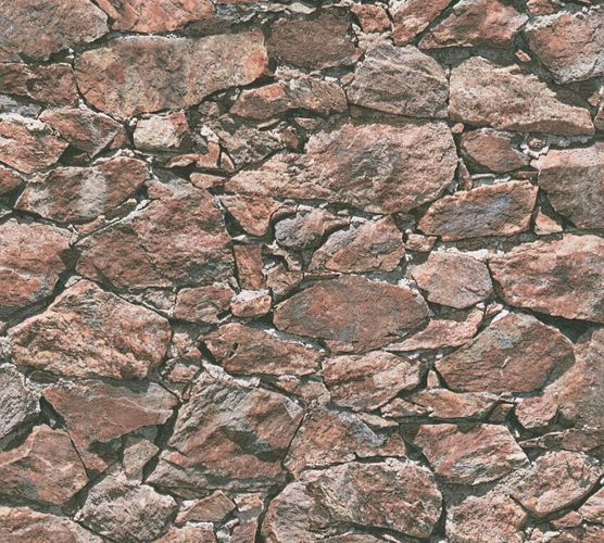 Wallpaper natural stone bricks red brown AS Creation 35583-2 online kaufen