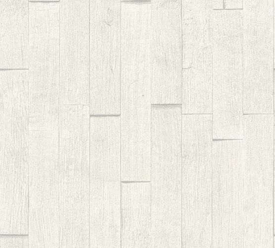 Wallpaper wooden board style cream white AS Creation 35584-2 online kaufen