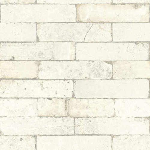 Wallpaper Rasch 3D stone wall design cream 446319  online kaufen
