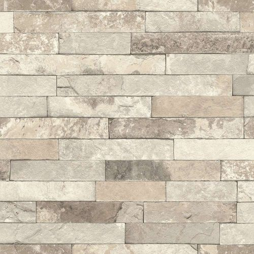 Wallpaper Rasch stone design bricks 3D beige 475159  online kaufen