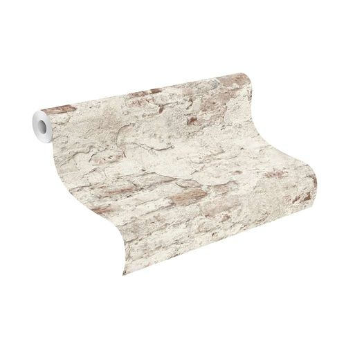 Wallpaper Rasch natural stone design cream white 939309  online kaufen