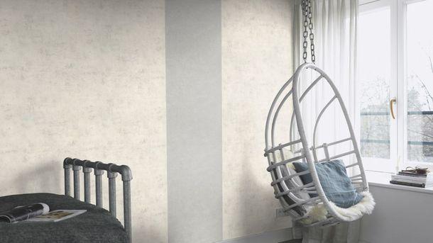 Wallpaper Rasch concrete stone design white grey 939507  online kaufen