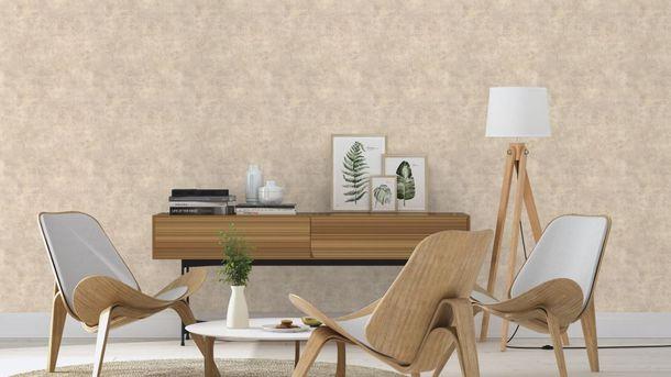 Wallpaper Rasch concrete stone design taupe grey 939538  online kaufen