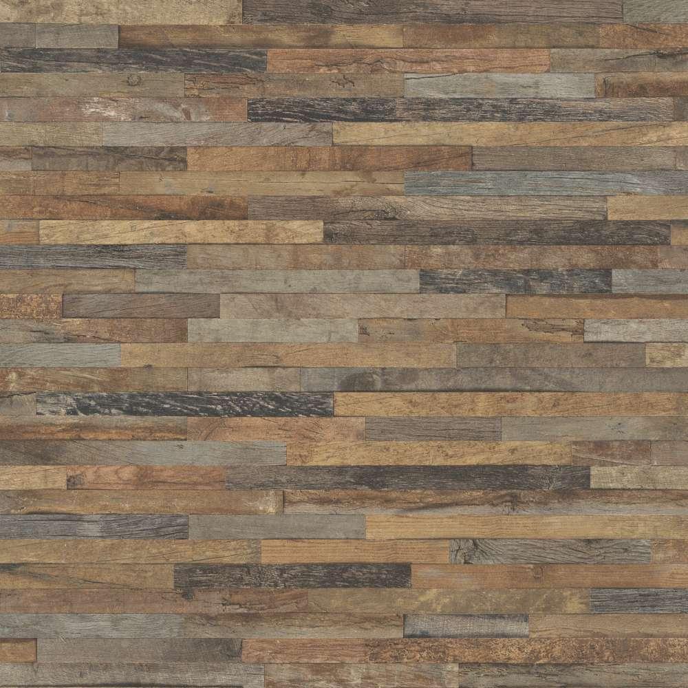 Vliestapete Rasch Holz Optik 3D braun grau 93981 1