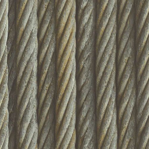 Wallpaper Rasch rope cord design grey beige 939903