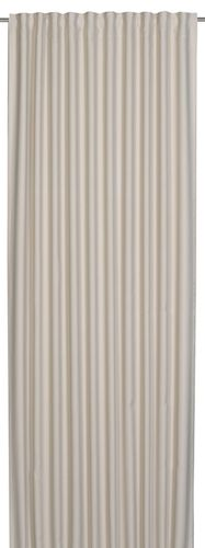 Loop Curtain blackout Midnight plain design beige 198138