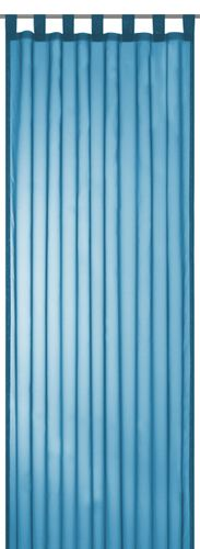 Loop Curtain transparent Feel Good Uni plain blue 198268 online kaufen