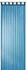 Loop Curtain transparent Feel Good Uni plain blue 198268 001