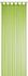 Loop Curtain transparent Feel Good Uni plain green 198275 001