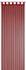 Loop Curtain transparent Feel Good Uni plain red 198282 001