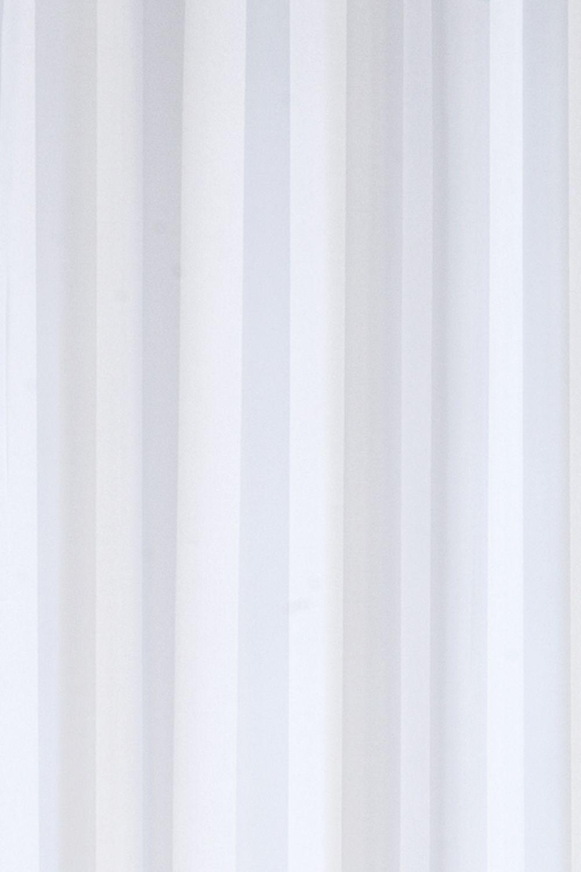 schlaufenschal gardine vorhang transparent update streifen. Black Bedroom Furniture Sets. Home Design Ideas