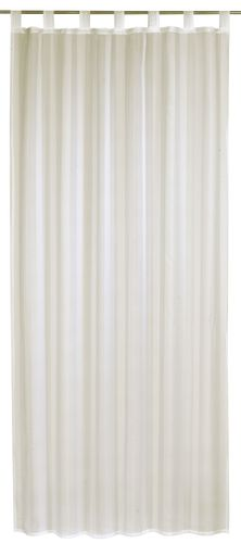 Loop Curtain transparent Update striped beige 198404 online kaufen