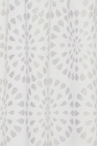 Half Curtain transparent Circolo graphic white 198411 online kaufen