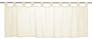 Half Curtain transparent Basic plain beige 198473 001