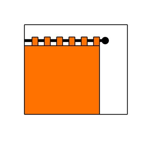 Schlaufenbandschal halbtransparent Membran Struktur weiß 198572 online kaufen