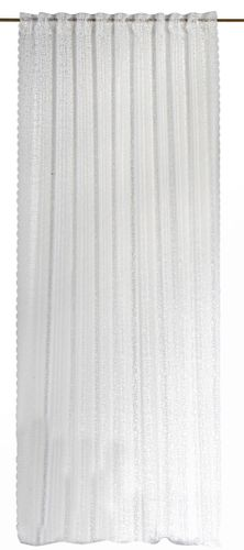 Loop Curtain semi-transparent Membran textured white 198572 online kaufen