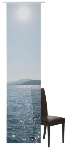 Panel Curtain semi-transparent Ocean Sea blue 198848 online kaufen