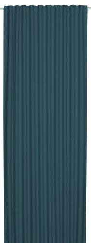 Schlaufenbandschal verdunkelnd Midnight Uni blau türkis 199609 online kaufen