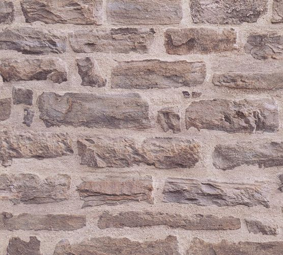 Wallpaper stone wall style brown AS Creation 35580-1 online kaufen