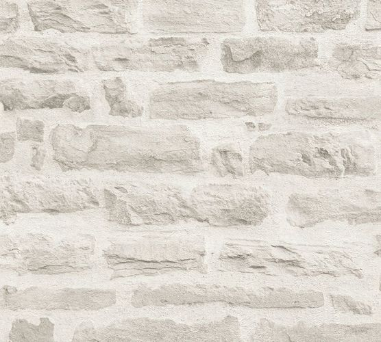 Wallpaper stone wall style cream AS Creation 35580-4
