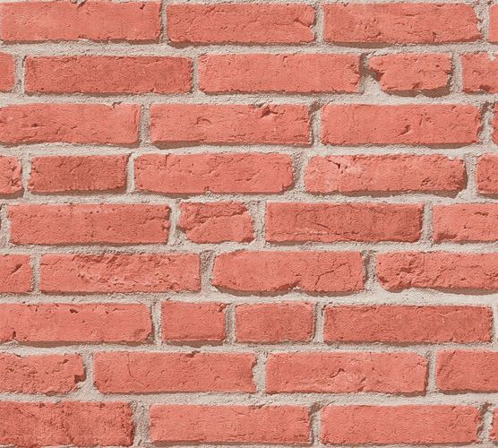 Wallpaper stone wall bricks red brown AS Creation 35581-1 online kaufen
