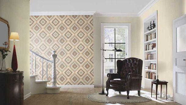 Wallpaper BARBARA Home textile textured beige 527247 online kaufen