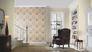 Room view Wallpaper Barbara Schöneberger textile textured beige 527247 3