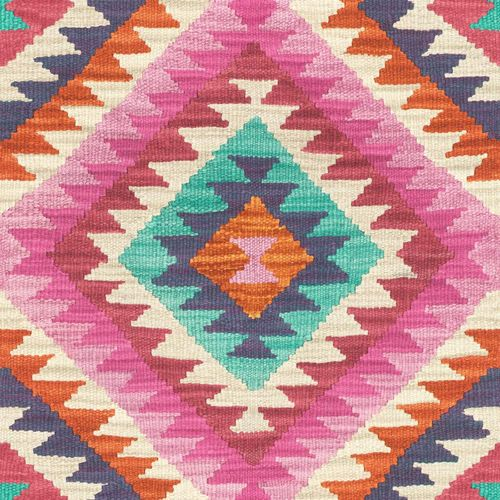 Wallpaper BARBARA Home kilim ethno colourful 527445