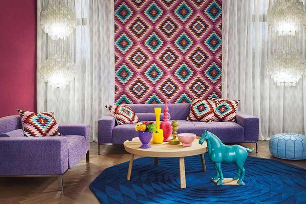 Wallpaper BARBARA Home kilim ethno colourful 527445 online kaufen