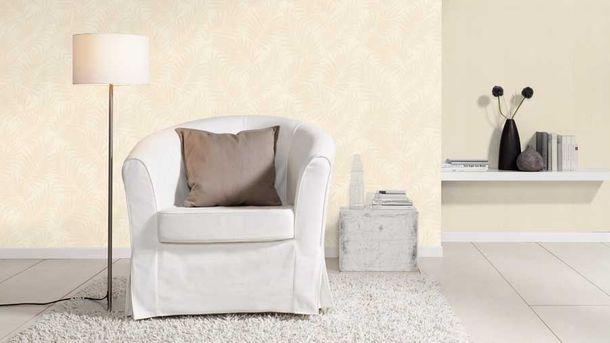 Wallpaper BARBARA Home floral leaf white gloss 527537 online kaufen