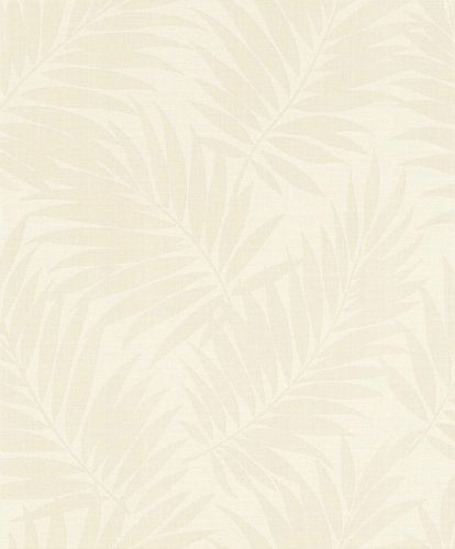 Wallpaper BARBARA Home Collection leaf white gloss 527537 online kaufen