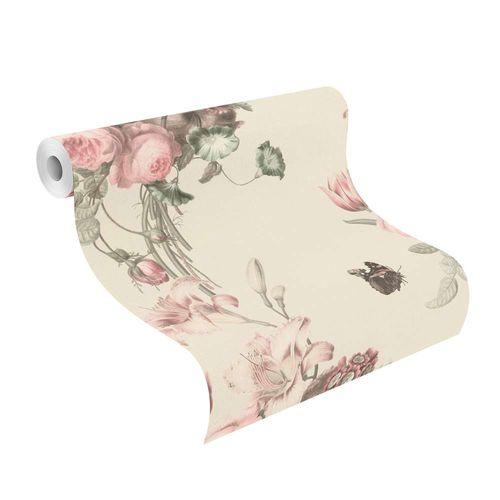 Wallpaper BARBARA Home flower floral white rose 527636 online kaufen
