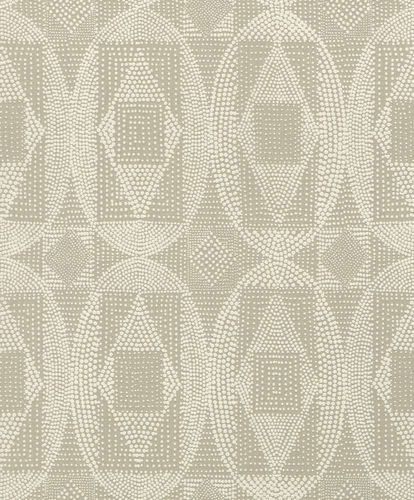 Wallpaper Barbara Becker bb graphic ethno brown cream 861822 online kaufen