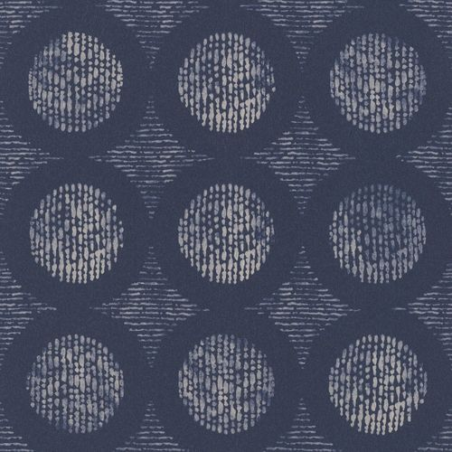 Wallpaper Barbara Becker bb graphic blue cream 862232