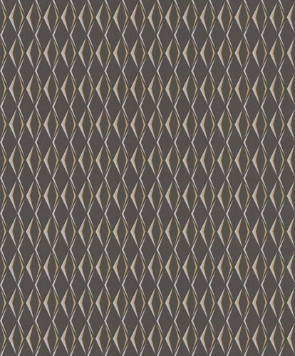 Wallpaper Rasch Cato diamond 3D anthracite gloss 800715 online kaufen