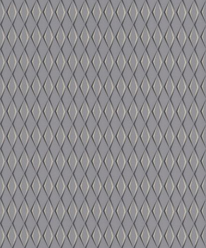 Wallpaper Rasch Cato diamond 3D dark grey gloss 800777 online kaufen