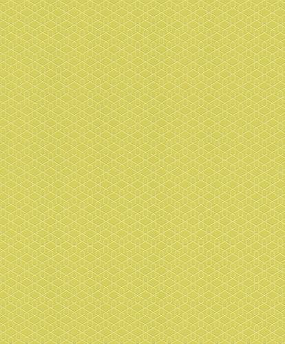 Vliestapete Rasch Cato 3D Grafik grün Glanz 800920 online kaufen