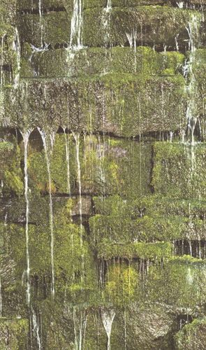 Wallpaper Barbara Becker bb natural stone moss green 861303