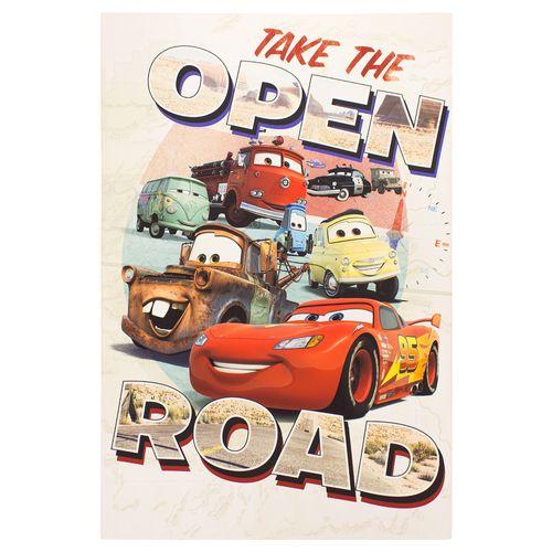 Wandbild Disney Cars Lightning McQueen Hook 60x90 cm
