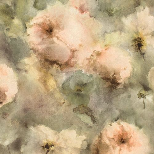 Wallpaper Rasch aquarell flower green rose 467345 online kaufen