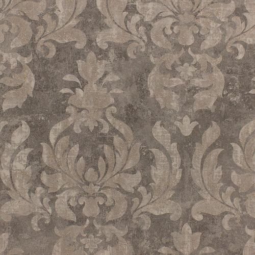 Wallpaper Rasch ornament dark grey taupe gloss 467444 online kaufen