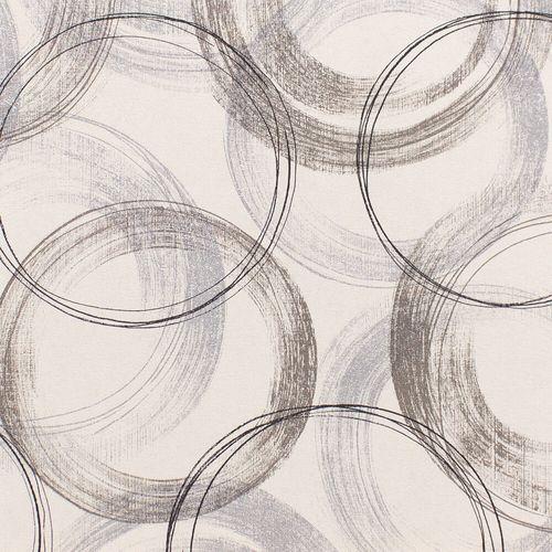 Vliestapete Rasch Kreise Vintage weiß Glanz 467758 online kaufen