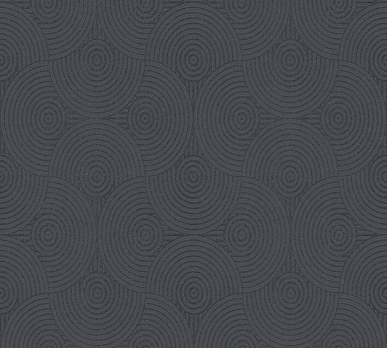 Wallpaper Esprit Home circle anthracite glitter 35715-4 online kaufen