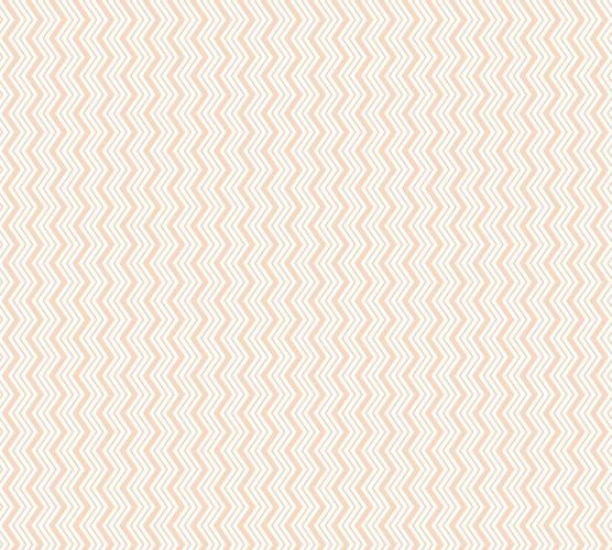 Wallpaper Esprit Home zig zag white orange gloss 35818-2 online kaufen